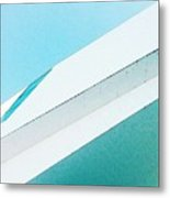 Abstract Color Of Architecture Metal Print