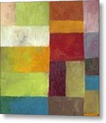 Abstract Color Study Lv Metal Print