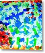 Abstract Colors. Metal Print