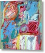 Abstract Composition 2 Metal Print