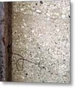 Abstract Concrete 12 Metal Print