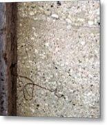 Abstract Concrete 12 Metal Print