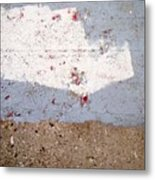 Abstract Concrete 13 Metal Print