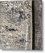 Abstract Concrete 16 Metal Print