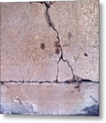 Abstract Concrete 3 Metal Print