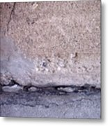 Abstract Concrete 4 Metal Print
