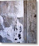 Abstract Concrete 6 Metal Print
