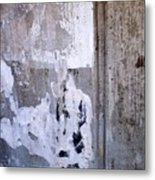 Abstract Concrete 9 Metal Print