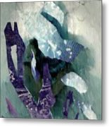 Abstract Construction Metal Print
