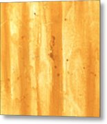 Abstract Contemporary Golden Yellow Painting Vibrant And Bold Yellow Gold By Madart Metal Print