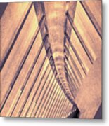 Abstract Corridor Architecture Metal Print