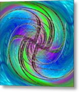 Abstract Cubed 261 Metal Print