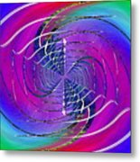 Abstract Cubed 262 Metal Print
