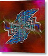 Abstract Cubed 271 Metal Print