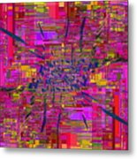 Abstract Cubed 330 Metal Print