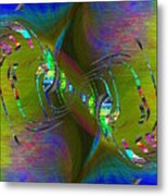 Abstract Cubed 361 Metal Print