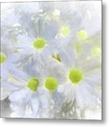 Abstract Daisy Boquet Metal Print