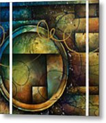 Abstract Design 4 Metal Print