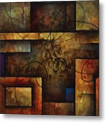 abstract design  A Metal Print