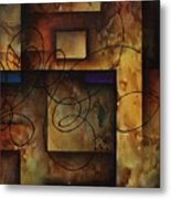 abstract design  B Metal Print