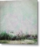Abstract Down The Road Metal Print