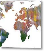 Abstract Earth Art Metal Print