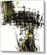Abstract Expressionism Intensive Painting 62.102511   Metal Print