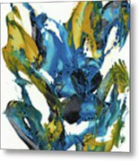 Abstract Expressionism Painting Series 715.102710 Metal Print