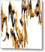 Abstract Expressionism Painting Series 734.102910 Metal Print