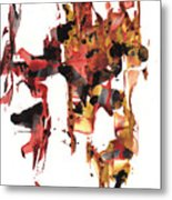 Abstract Expressionism Painting Series 744.102110 Metal Print
