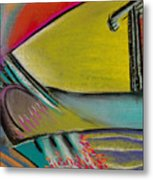 Abstract Expressive 002 Metal Print