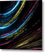 Abstract Fiber Metal Print