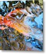 Abstract Fish Art - Fairy Tail Metal Print
