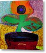 Abstract Floral Art 116 Metal Print