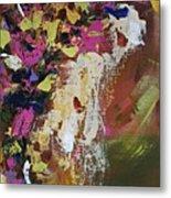 Abstract Floral Study Metal Print