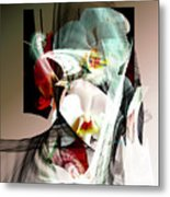 Abstract Flowers Of Love #1 Metal Print