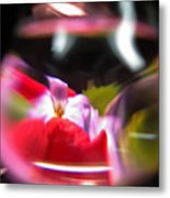 Abstract Flowers Part Two Metal Print
