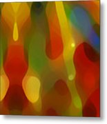 Abstract Flowing Light Metal Print by Amy Vangsgard