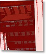 Abstract Found At Albertson's Metal Print
