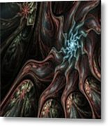 Abstract Fractal 050810 Metal Print