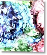 Abstract Garden Metal Print