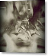 Abstract Glass Metal Print