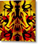 Abstract Graffiti 19 Metal Print