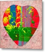 Abstract Heart 310118 Metal Print