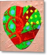 Abstract Heart 40218 Metal Print