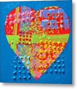 Abstract Heart 50218 Metal Print
