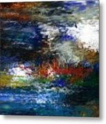 Abstract Impression 5-9-09 Metal Print