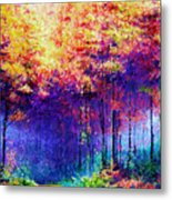 Abstract Landscape 0830a Metal Print