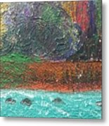 Abstract Landscape 15-oo Metal Print