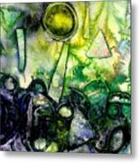 Abstract Landscape IIi Metal Print